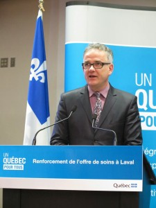 Hébert vows Laval residents can continue getting treatment in Montreal