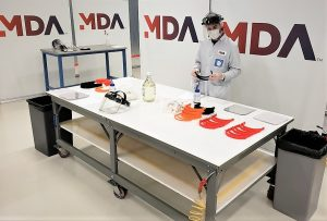 MDA clean rooms ramp up grassroots face shield production to protect front-line health workers
